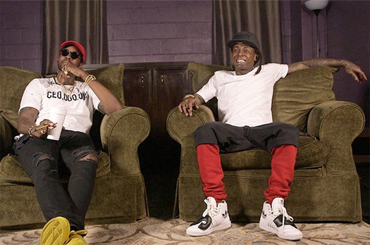 Lil Wayne & 2 Chainz Talk Bounce & Announce An Unreleased Collaboration Called Bars Produced By Havoc From Mobb Deep