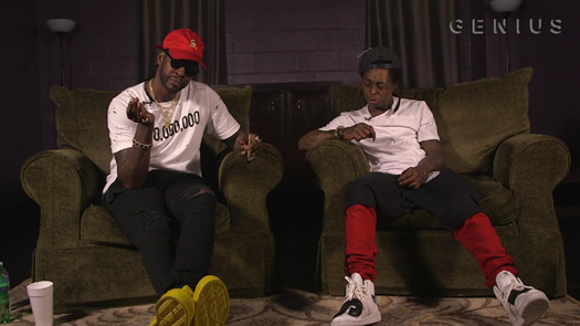 Lil Wayne & 2 Chainz Discuss Section & Rolls Royce Weather Everyday Lyrics Off ColleGrove
