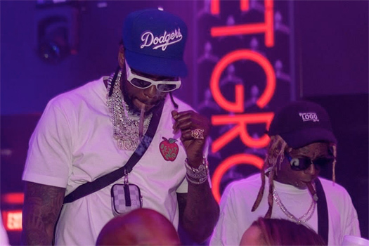 Lil Wayne & 2 Chainz Tease ColleGrove 2 Joint Album At LIV In Miami