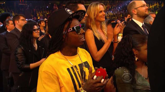 Pictures Of Lil Wayne At The 54th Annual GRAMMY Awards