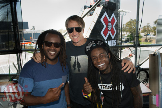 Lil Wayne Calls Tony Hawk An Innovator & Says He Is The Reason He Is Breaking Bones