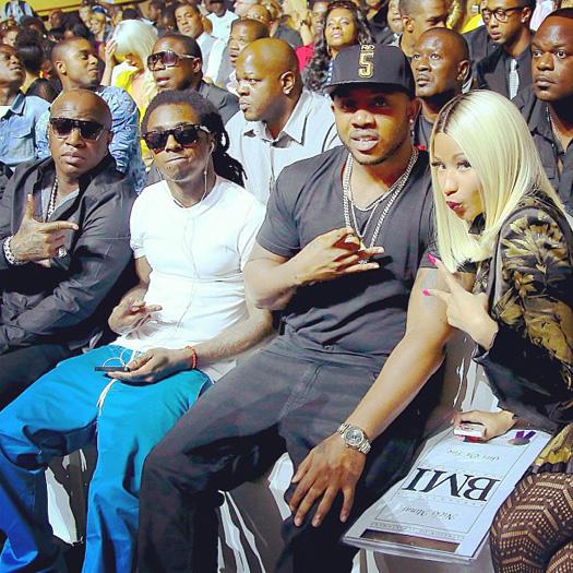 Lil Wayne Attends 2013 BMI R&B Hip-Hop Awards, Reunites With Currensy, Juvenile, Mannie Fresh & More