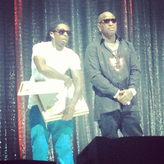 Lil Wayne Attends 2013 BMI R&B Hip-Hop Awards, Reunites With Currensy, Juvenile, Mannie Fresh & More