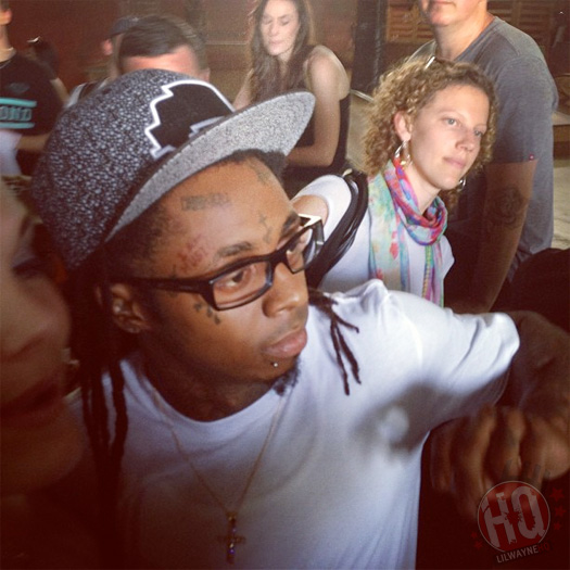 Lil Wayne Attends 2013 Tampa Pro Skating Contest