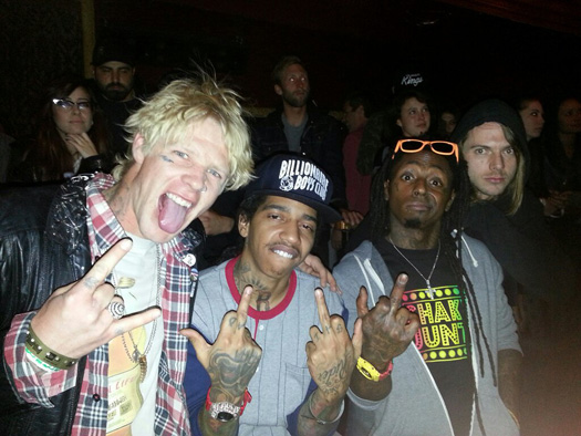 Lil Wayne Attends 2013 TransWorld SKATEboarding Awards In Hollywood