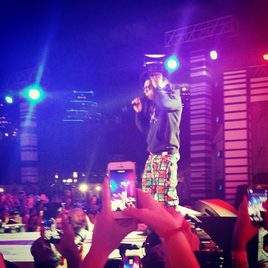 Lil Wayne Performs At The 2014 MTVU Woodie Awards, Accepts Award On Drake Behalf