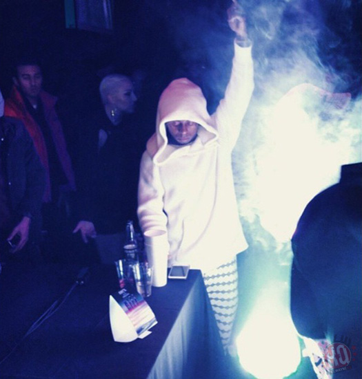 Lil Wayne Attends 2015 NBA All Star Game After Party At Stage 48 With Juelz Santana & Ray J