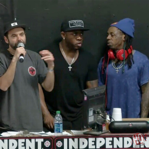 Lil Wayne Attends Final Day Of The 2015 Tampa Pro Skating Competition