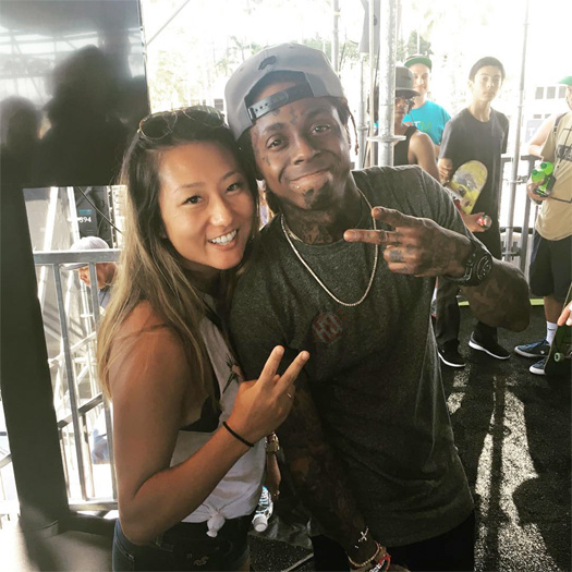 Lil Wayne Hits Up The 2016 Dew Tour In Long Beach California
