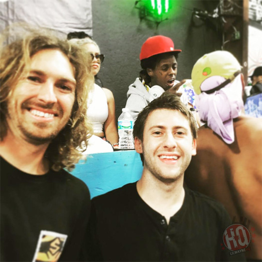 Lil Wayne Attends 22nd Annual Tampa Am Skating Contest To Watch The Qualifiers
