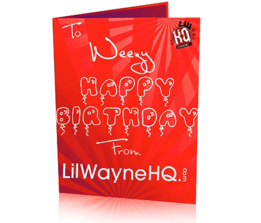 Happy 28th Birthday Lil Wayne