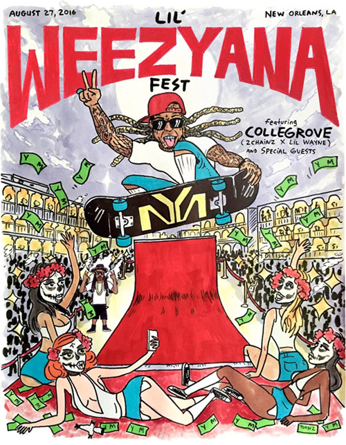 Lil Wayne Announces 2nd Annual Lil Weezyana Fest In His Hometown New Orleans With 2 Chainz