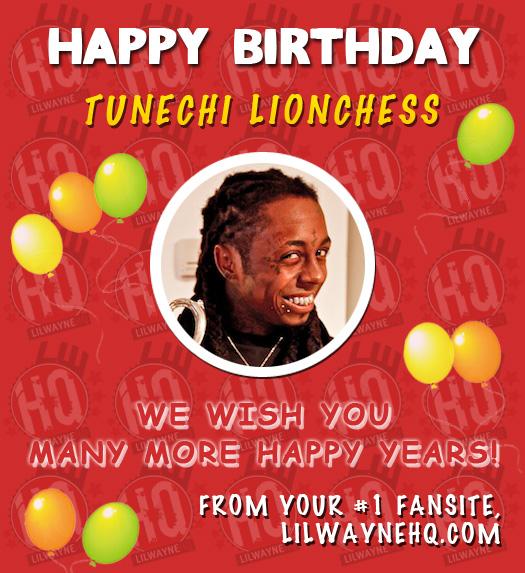 Happy 30th Birthday To Lil Wayne