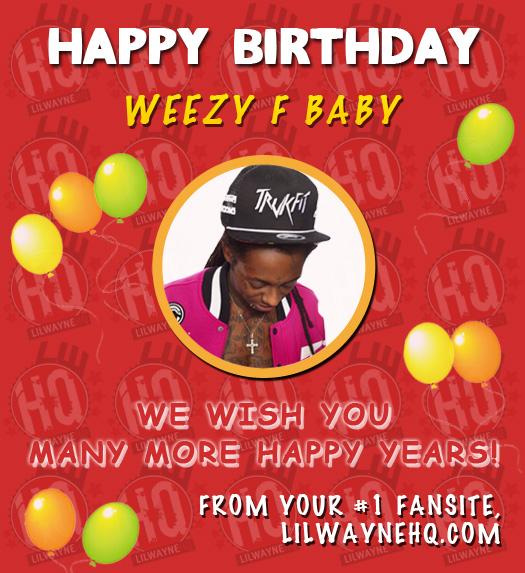 Happy 31st Birthday Lil Wayne