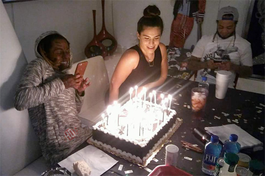 Lil Wayne Celebrates His 34th Birthday With Dhea
