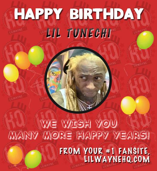 Happy 38th Birthday To Lil Wayne