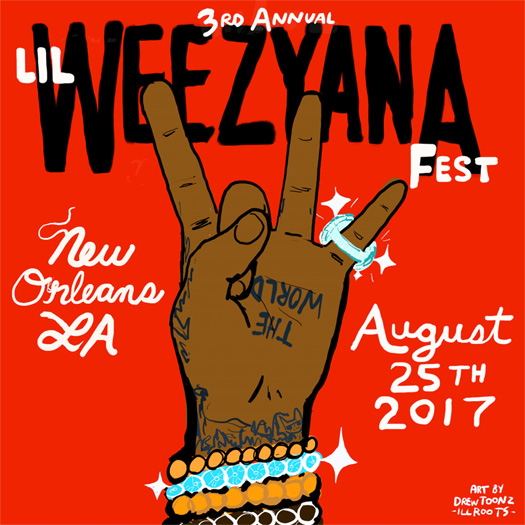 Lil Wayne Announces 3rd Annual Lil Weezyana Fest In His Hometown New Orleans