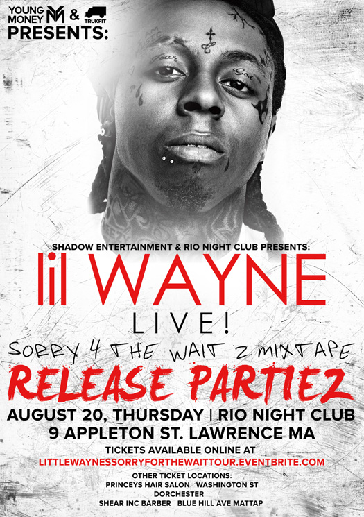 Lil Wayne Adds 2 New Stops To His Release Partiez Nightclub Tour In August