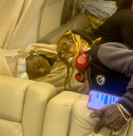 Lil Wayne Admits To Owning Gold Pistol Found On His Private Jet, Says It Was A Fathers Day Gift