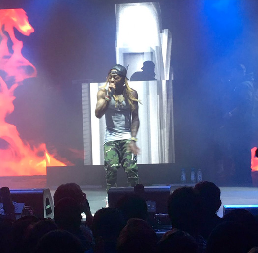 Lil Wayne Gives Advice For Young Music Artists Trying To Get Signed, Talks Performing At A Bud Light Show & More