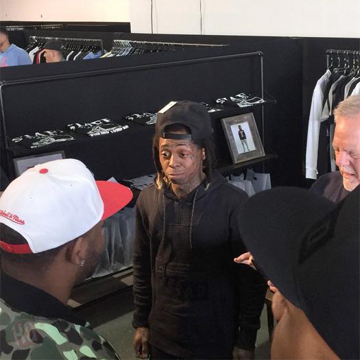 Watch A Recap Of Lil Wayne's Appearances At LIV Nightclub & Agenda Trade Show To Celebrate TRUKFIT