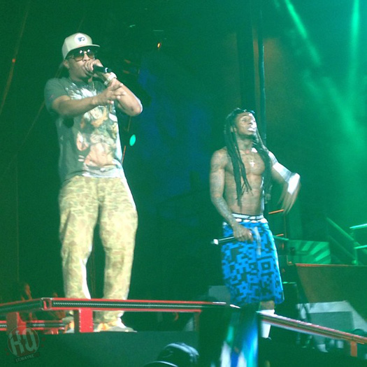 Lil Wayne Performs Live In Albuquerque On Americas Most Wanted Tour