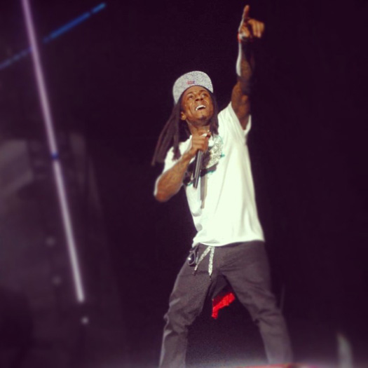 Lil Wayne Performs Live In Amneville France On His European Tour