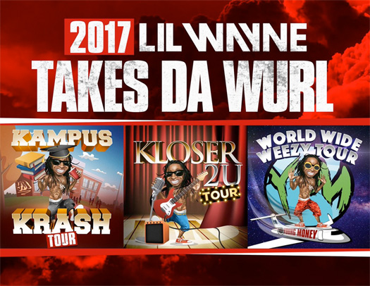 Lil Wayne Announces 3 Tours & New Music For This Year