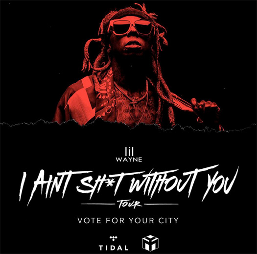 Lil Wayne Reveals Fan Voted Dates & Cities For I Aint Shit Without You Mini Tour