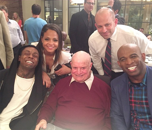Lil Wayne To Appear In The Pilot Episode Of FOX Grandpa TV Show With Christina Milian