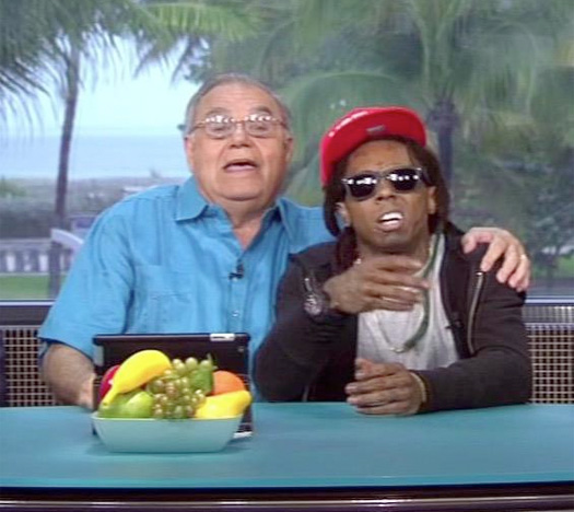 Lil Wayne Makes An Appearance On ESPN Highly Questionable Show