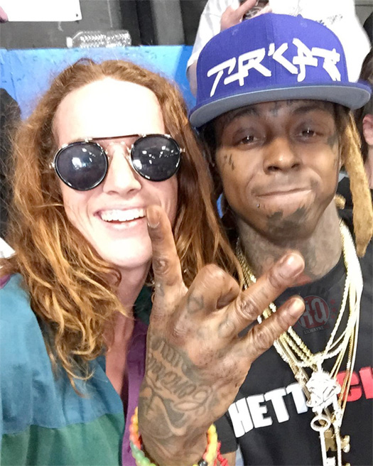 Lil Wayne Makes An Appearance During Final Day Of 2017 Tampa Pro Skating Competition
