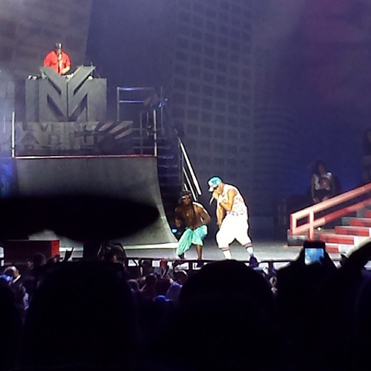 Lil Wayne Performs Live In Atlanta On Americas Most Wanted Tour