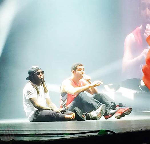 Lil Wayne Amp Drake Perform Live In Atlanta Georgia On