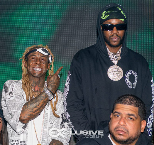 Lil Wayne Attends Daughter Reginae Carter 22nd Hot Girls Birthday Party