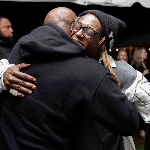 Lil Wayne Attends Funeral Album Release Party With His Fiancee, Mother, Birdman & More