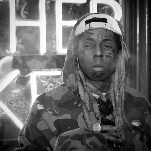 Lil Wayne Attends Gudda Gudda Birthday Party At Exchange Miami Nightclub