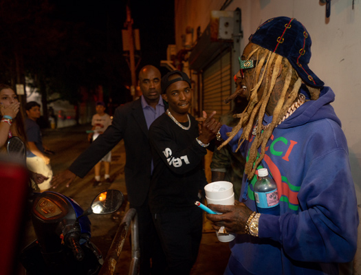 Lil Wayne Attends His Official Rolling Loud V After Party In Miami