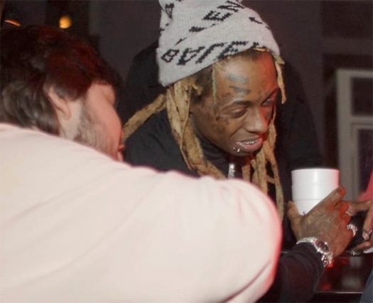 Lil Wayne Attends His Party At STORY Nightclub In Miami