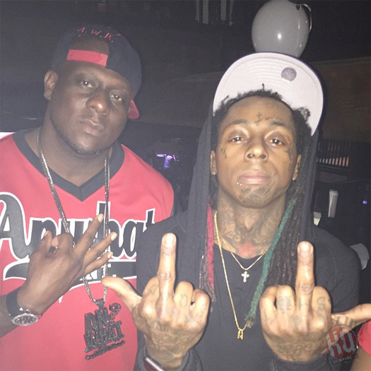 Lil Wayne Attends & Performs Live At Kokopellis In Louisiana