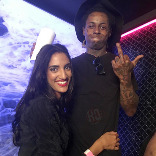 Lil Wayne Attends & Performs Live At Movida Nightclub In Dubai United Arab Emirates