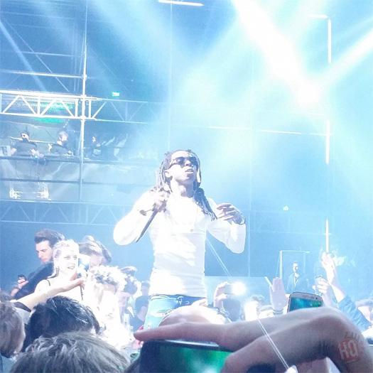 Lil Wayne Attends   Pe...