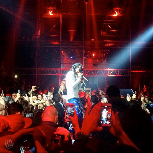 Lil Wayne Attends & Performs At Philipp Plein Fall Winter 2016 2017 Menswear Fashion Show In Milan