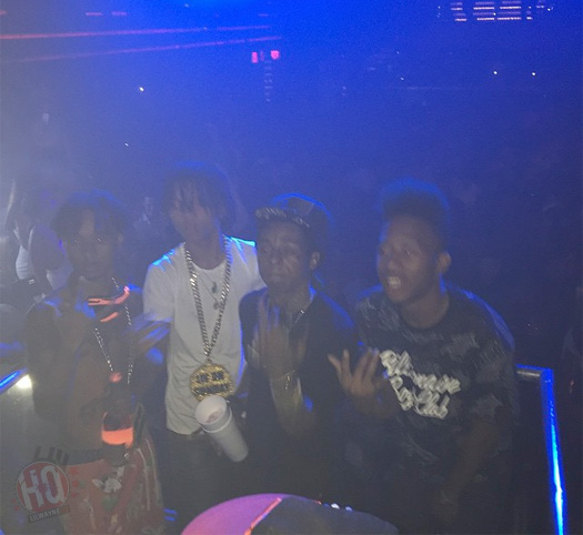 New Snippet Of DJ Stevie J, Lil Wayne & Swae Lee Go Go Dancer