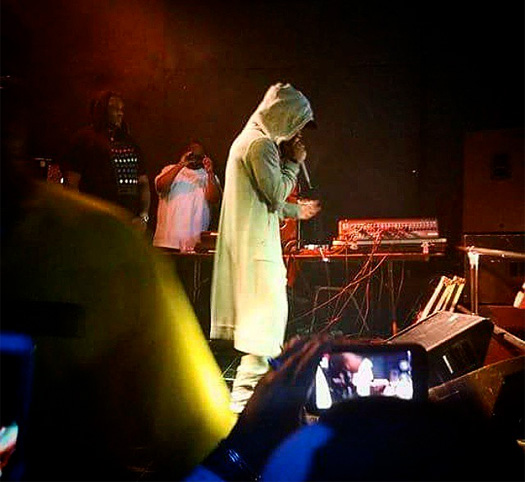 Lil Wayne Attends & Performs Live At Studio 25 In Danville Illinois