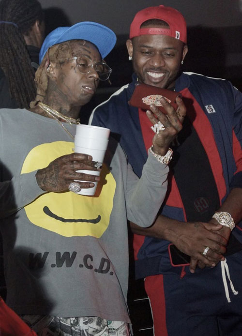 Lil Wayne Attends STORY Nightclub, They Play Just Chill Featuring Justin Bieber & French Montana Off Tha Carter V