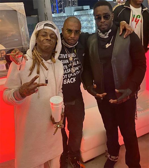 Lil Wayne Attends Teyana Taylor Dirty Thirty Birthday Bash In Miami