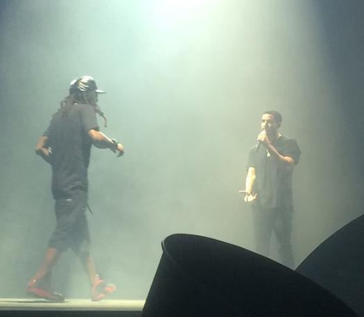 Lil Wayne & Drake Perform Live In Auburn Washington On Their Joint Tour