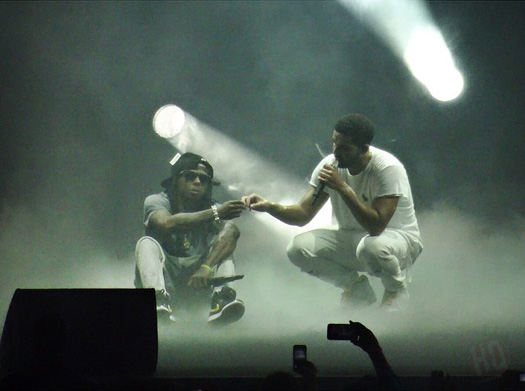 Lil Wayne & Drake Perform Live In Austin Texas On Their Joint Tour