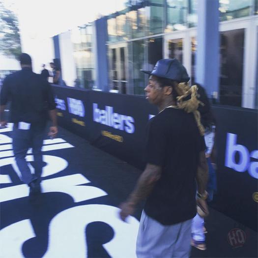 Lil Wayne Attends Ballers Season 2 Premiere In Miami